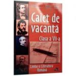 Limba si literatura romana. Clasa a 7-a. Caiet de vacanta - Claudia Oancea-Raica