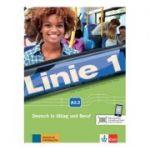 Linie 1 A2. 2, Kurs- und Übungsbuch mit DVD-ROM. Deutsch in Alltag und Beruf - Stefanie Dengler