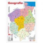 Harta Geografia Romaniei 2 - Cristina Moldovan