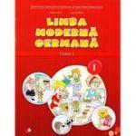 Limba moderna germana. Manual. Clasa I. Sem. I + CD - Naomi Achim, Eugenia Rosian