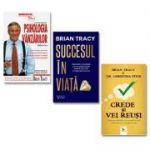 Pachet din 3 carti Psihologia vanzarilor, Succesul in viata, Crede si vei reusi de Autorul Brian Tracy