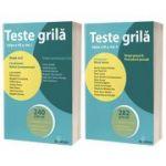 Teste grila pentru admiterea la INM sau in avocatura - Volumul I si II
