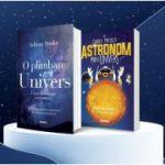 Pachet format din 2 carti Ghidul micului astronom prin Univers
