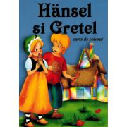 Hansel si Gretel - format A5 (carte de colorat)