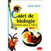 Caiet pentru biologie clasa a VII-a
