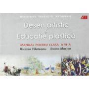 Desen artistic si educatie plastica - Manual pentru clasa a VI-a