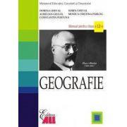 Geografie. Manual clasa a XII-a - Sorin Cheval, Dorina Cheval