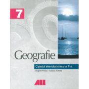 Geografie. Caietul elevului clasa a VII-a - Grigore Posea