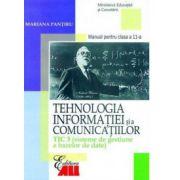 Tehnologia informaiei si a comunicatiilor TIC 3 - Sisteme de gestiune a bazelor de date - Manual clasa a XI-a