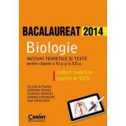 Biologie clasele XI si XII - bacalaureat 2014 - Ed. Corint