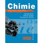 Manual de chimie, clasa a VIII-a - Sanda Fatu