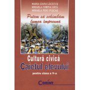Caietul elevului de cultura civica - clasa a V-a