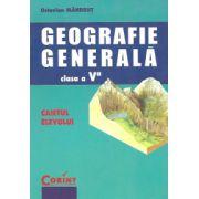 Caietul elevului de geografie generală - clasa a V-a