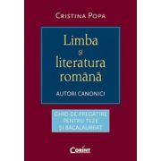 Limba si literatura romana - autori canonici - Ed. Corint