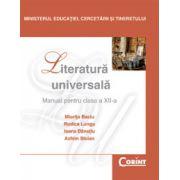 Manual de literatura universala - clasa a XII-a