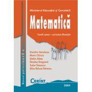 Matematica. Manual pentru clasa a IX-a - Dumitru Savulescu