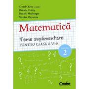 Teme suplimentare - matematică pentru clasa a V-a, sem II