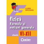 Formule si notiuni generale de fizica VI-XII
