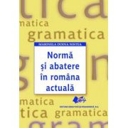Norma si abatere in romana actuala