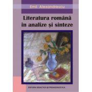 Literatura romana - analize si sinteze