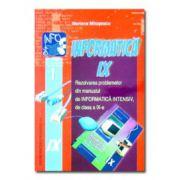 Rezolvarea problemelor din manual de intensiv-informatică - clasa a IX-a