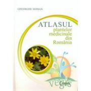 Atlasul plantelor medicinale din Romania (cartonat)