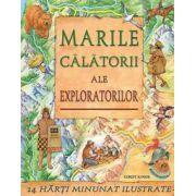 Marile calatorii ale exploratorilor (1 harti minunat ilustrate)