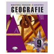 Geografie. Manual pentru clasa a IX-a - Manuela Valentina Popescu