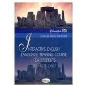 Interactive English language training course