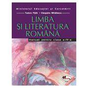 Limba si literatura romana -Manual pentru clasa a IV-a (Cleopatra Mihailescu, Tudora Pitila)
