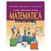 Matematica- Manual pentru clasa a IV-a (Aurel Maior)