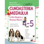 Cunoasterea mediului cu Rita Gargarita si Greierasul Albastru - (caiet) grupa mijlocie 4-5 ani