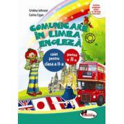 Caiet limba engleza semestrul II, clasa a-II-a - Cristina Johnson
