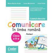 Caietul elevului clasa a-II-a. Comunicare in limba romana partea I - Maria Emilia Goian, Lucia Minchevici, Iulia Preda