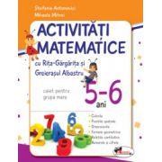 Activitati matematice cu Rita Gargarita si Greierasul Albastru - (caiet) grupa mare 5-6 ani