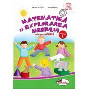 Matematica si explorarea mediului. Caiet pentru clasa I, semestrul 1 - Anina Badescu