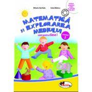 Matematica si explorarea mediului. Caiet pentru clasa I, semestrul 2 - Anina Badescu