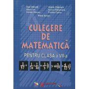 Culegere de matematica. Clasa a VII-a