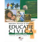 Educatie Civica - Manual pentru clasa a-IV-a (Dumitra Radu)