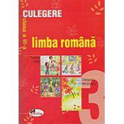 Culegere limba si literatura romana - clasa a-III-a