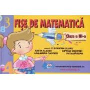 Fise de matematica clasa a III-a