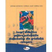 Jocuri didactice pentru activitati matematice din gradinita