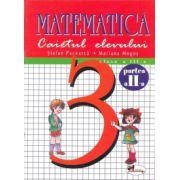 Caietul elevului -Matematica clasa a-III-a - sem. II