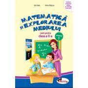 Caiet Matematica si explorarea mediului clasa a-II-a, semestrul I - Anina Badescu