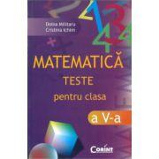 Teste de matematica pentru clasa a V-a