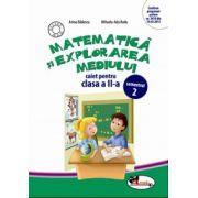 Caiet Matematica si explorarea mediului clasa a II-a, semestrul II - Anina Badescu