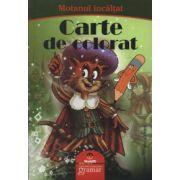 Motanul incaltat - carte de colorat