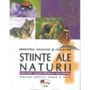 Stiinte ale naturii -Manual pentru clasa a IV-a (Tudora Pitila)
