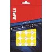 Etichete autoadezive Apli, rotunde, 13 mm, 616 buc