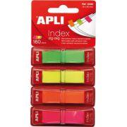 Index Apli Pop-Up cu dispenser, 12x45 mm, 40 file/culoare